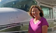 PILOT SHERRY KANDLE DOES IT ALL!