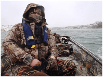 COLD WATER DANGERS TO WATERFOWL HUNTERS