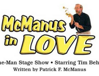 McManus in Love - One man comedy