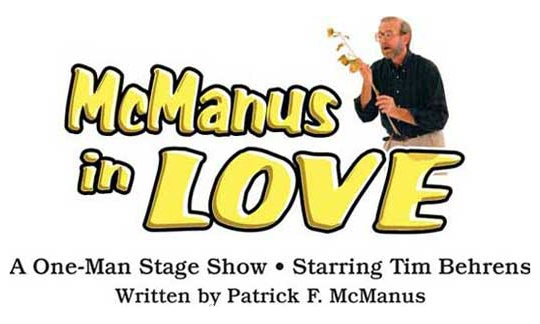 McManus in Love - One man comedy