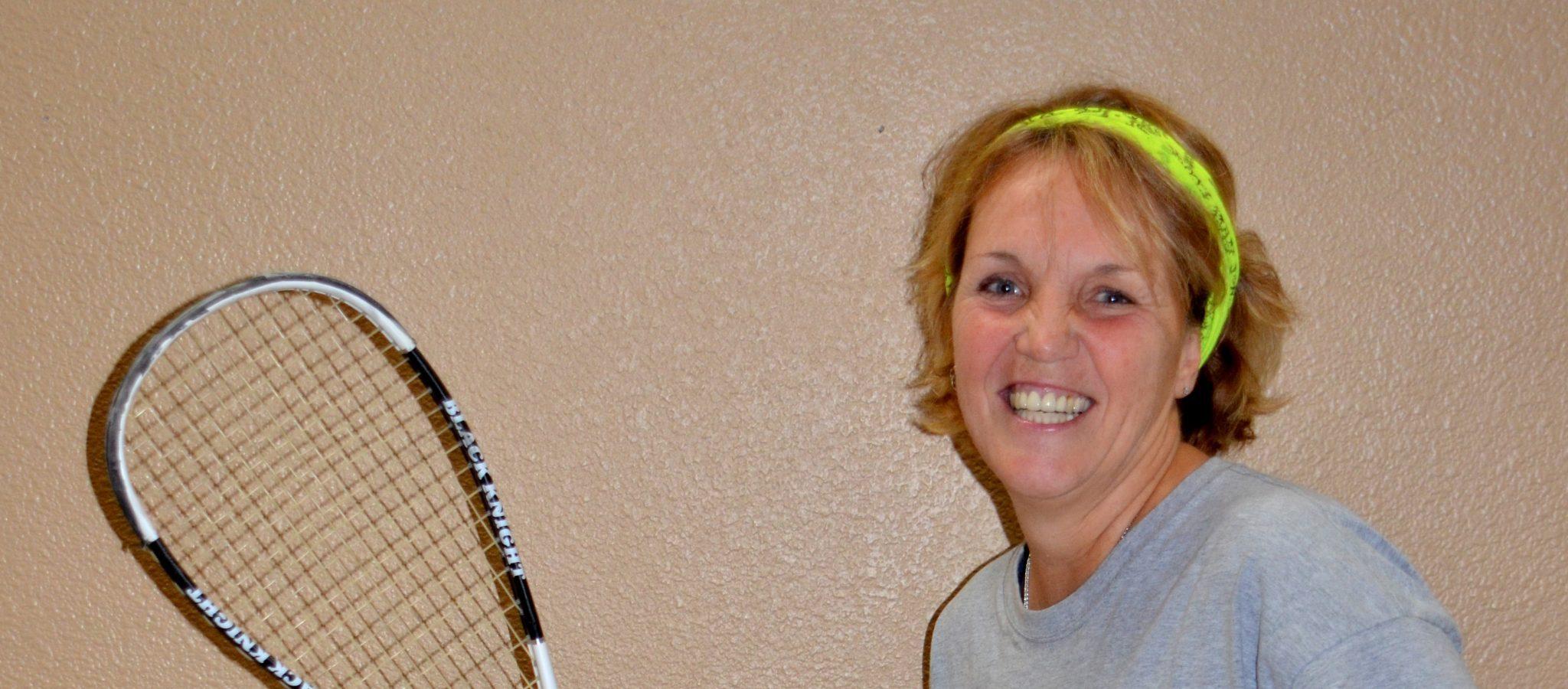 Super active Nancy Schmidt