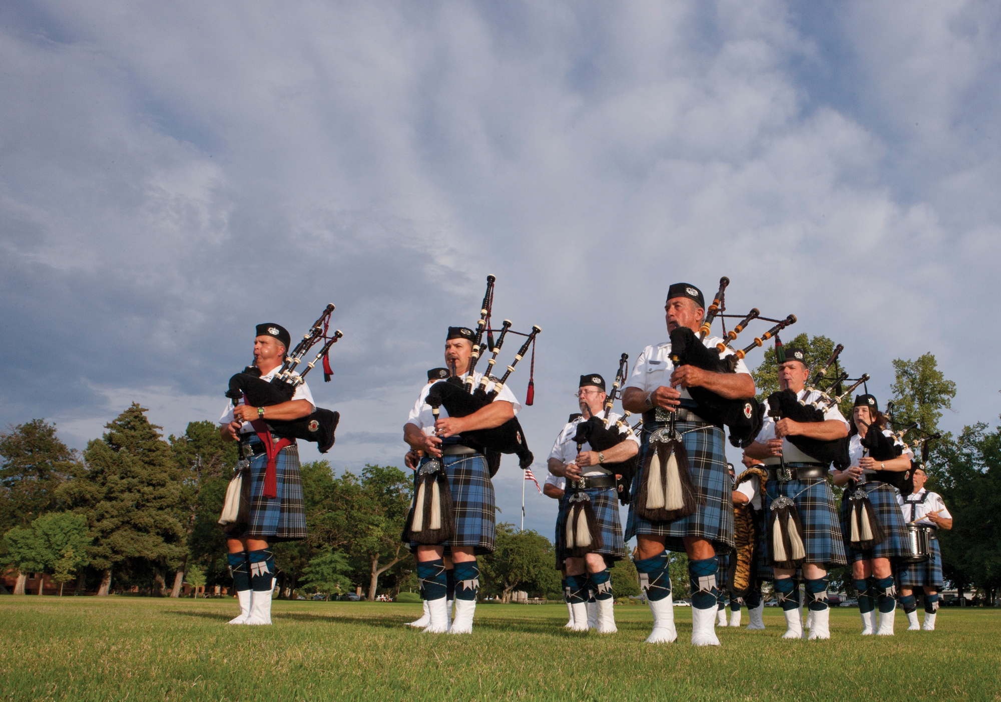 Ron Lopez Credits His Gene Pool for His Love of Bagpipes