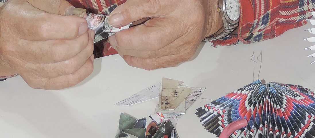 Origami Artist Roy Abo: Generous Master of Time and Patience