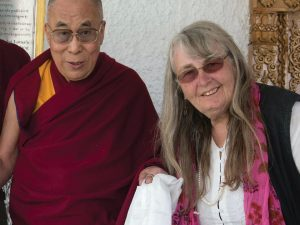 Valerie Hellerman and the Dalai Llama: Refugees in the Intermountain West