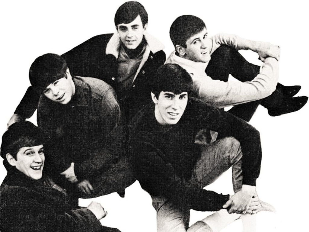 Image of young band members of the Kingsmen