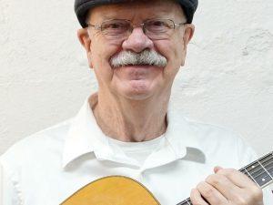 photograph of Idaho musician Gary Edwards