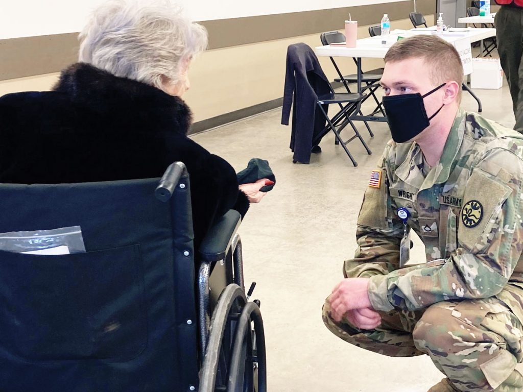 Panhandle Health District, Medical Reserve Corps volunteers, and Idaho National Guard help vaccinate the North Idaho community.
